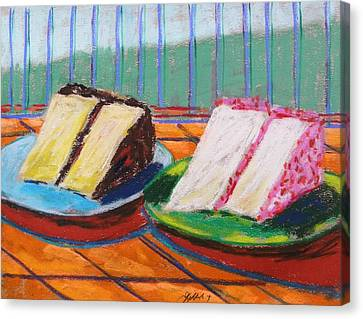 Two Slices Canvas Print by John Williams