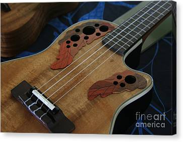 Ukulele Canvas Print by Sharon Mau