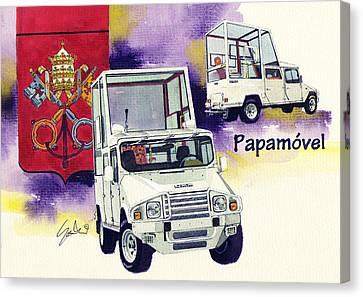 Umm Papampbile Canvas Print by Yoshiharu Miyakawa