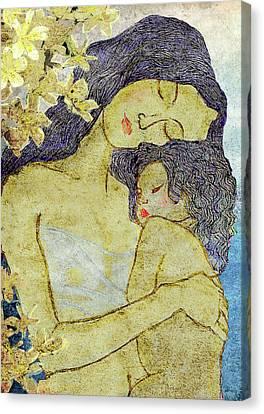 Unconditional Love Canvas Print by Shakila Malavige