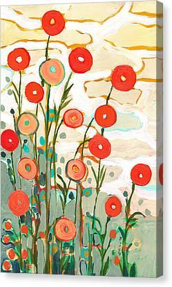 Under The Desert Sky Canvas Print by Jennifer Lommers
