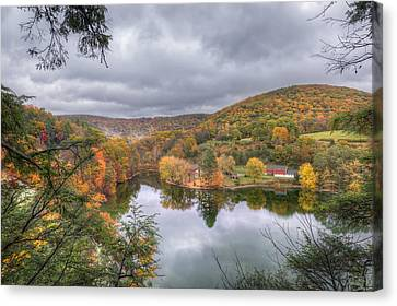 Under Threatening Skies Canvas Print by Bill Wakeley