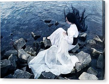 Underwater Canvas Print by Cambion Art