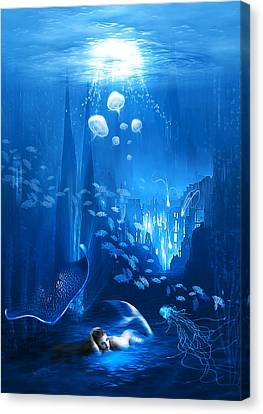 Underwater World Canvas Print by Svetlana Sewell