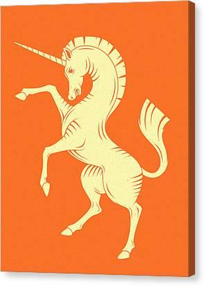 Unicorn Canvas Print by Jazzberry Blue
