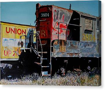 Union Canvas Print by Gail Chandler