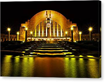 Union Terminal Canvas Print by Keith Allen