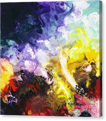 Universal Forces Canvas Two Canvas Print by Sally Trace