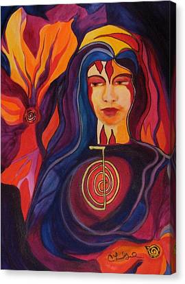 Universal Mother Canvas Print by Carolyn LeGrand