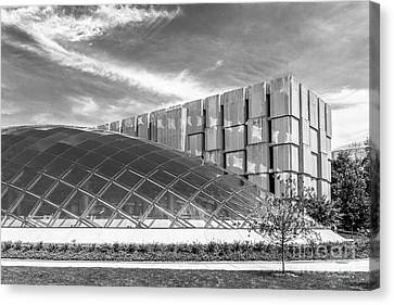 University Of Chicago Mansueto Library Canvas Print by University Icons