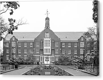 University Of Connecticut Whitney Hall Canvas Print by University Icons