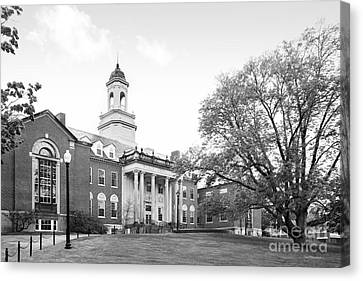 University Of Connecticut Wilbur Cross Building Canvas Print by University Icons