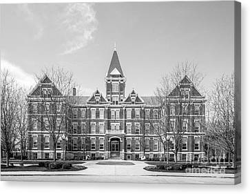 University Of Findlay Old Main Canvas Print by University Icons