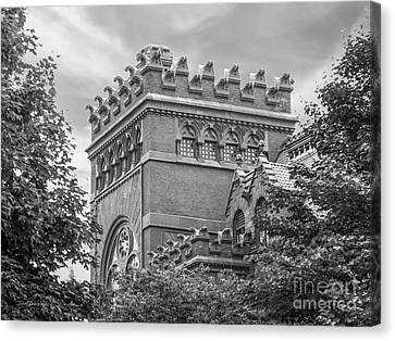 University Of  Pennsylvania Fisher Fine Arts Library Canvas Print by University Icons