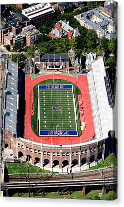 University Of Pennsylvania Franklin Field S 33rd Street Philadelphia Canvas Print by Duncan Pearson