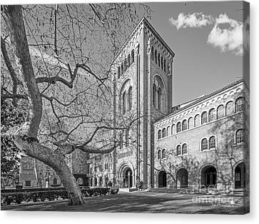 University Of Southern California Administration Building Canvas Print by University Icons