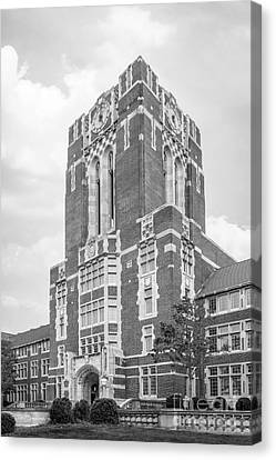 University Of Tennessee Ayres Hall Canvas Print by University Icons