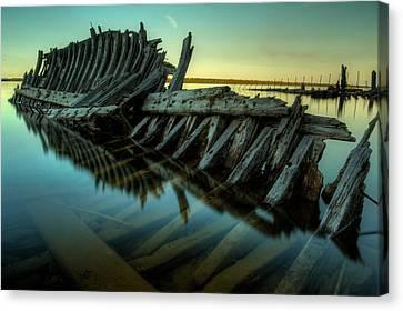 Unknown Shipwreck Canvas Print by Jakub Sisak