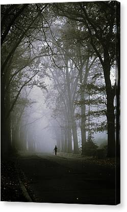 Unknown Way Canvas Print by Cambion Art