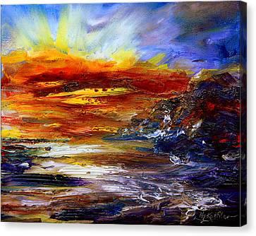 Unpredictable Canvas Print by Hanne Lore Koehler