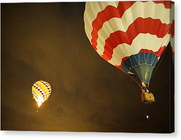 Up Up And Away  Canvas Print by Jeff Swan
