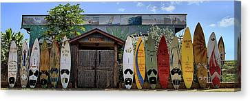Upcountry Boards Canvas Print by DJ Florek
