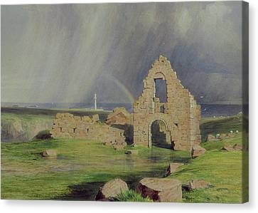 Upper Boddam Castle Canvas Print by James Giles