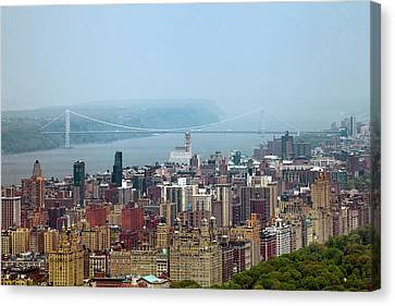 Upper West Side Canvas Print by Az Jackson