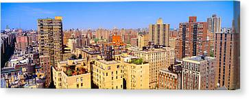 Upper West Side, Manhattan, New York+b3 Canvas Print by Panoramic Images