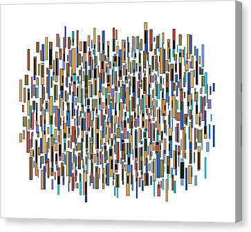 Urban Abstract Canvas Print by Frank Tschakert
