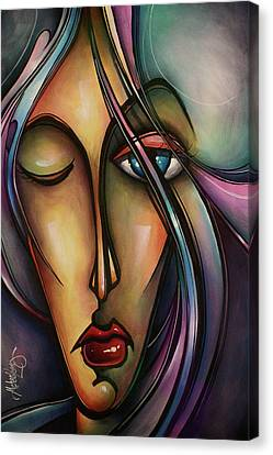 Urban Design Canvas Print by Michael Lang