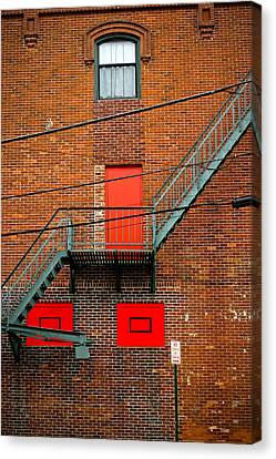 Urban Escape Canvas Print by Colleen Kammerer