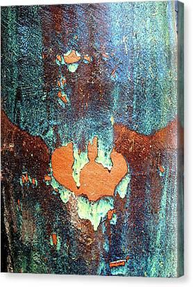 Urnside Abstract Canvas Print by Ben Freeman