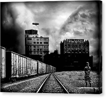 Us And Them Canvas Print by Bob Orsillo