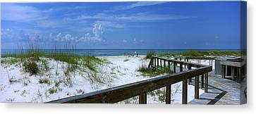 Usa, Florida, Gulf Of Mexico, St Canvas Print by Panoramic Images