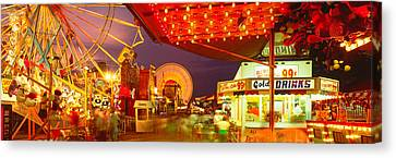 Usa, New York, Hamburg, Erie County Fair Canvas Print by Panoramic Images