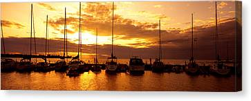 Usa, Wisconsin, Door County, Egg Harbor Canvas Print by Panoramic Images