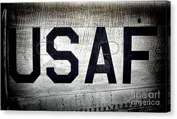 Usaf Canvas Print by Olivier Le Queinec
