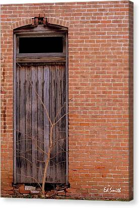 Use Side Entrance Canvas Print by Ed Smith