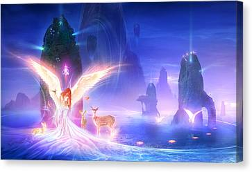 Utherworlds Ooulana Canvas Print by Philip Straub