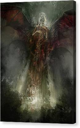 Utherworlds The Clouding Canvas Print by Philip Straub