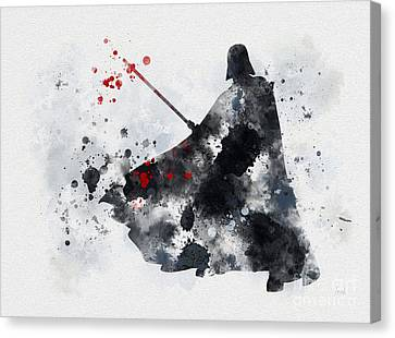 Vader Canvas Print by Rebecca Jenkins