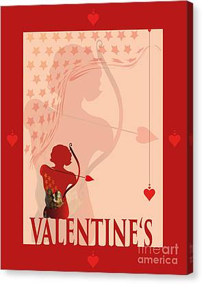Yes Valentine M19 Canvas Print by Johannes Murat