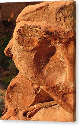 Valley Of Fire - Nevada's Crown Jewel Canvas Print by Christine Till