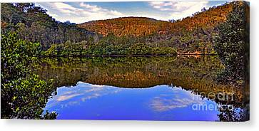Valley Of Peace Canvas Print by Kaye Menner