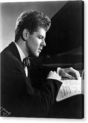 Van Cliburn, 1954 Canvas Print by Everett