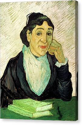 Van Gogh Madame Ginoux Larlesienne Canvas Print by Vincent Van Gogh
