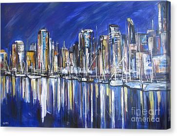 Vancouver Canvas Print by Debora Cardaci