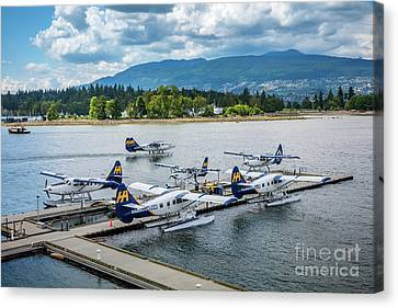 Vancouver Seaplanes Canvas Print by Inge Johnsson