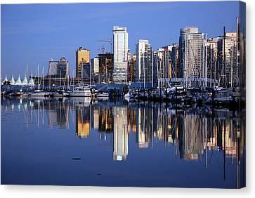 Vancouver Skyline Canvas Print by Alasdair Turner